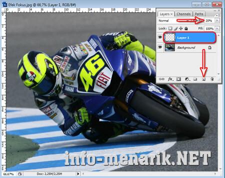 Efek Fokus Pada Photo Dengan Photoshop 1