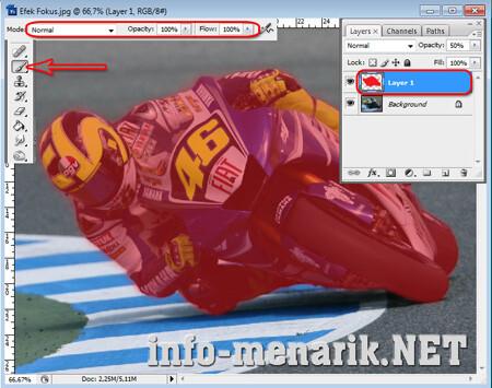 Efek Fokus Pada Photo Dengan Photoshop 2