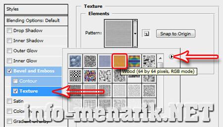 Huruf Efek Style Texture Photoshop 5