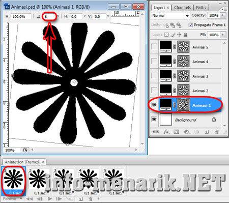 Membuat Animasi Format GIF 10