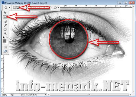Mewarnai Mata Dengan Photoshop 2