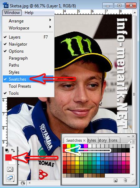Efek Sketsa Photo Dengan Photoshop 3