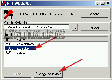 Reset Password Windows Dengan Hiren 5