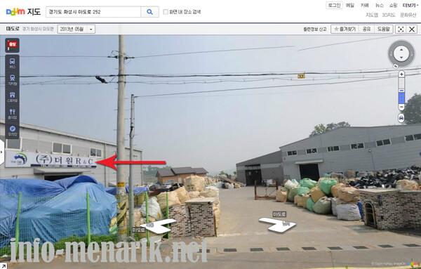 cara mengetahui lokasi pabrik korea 6