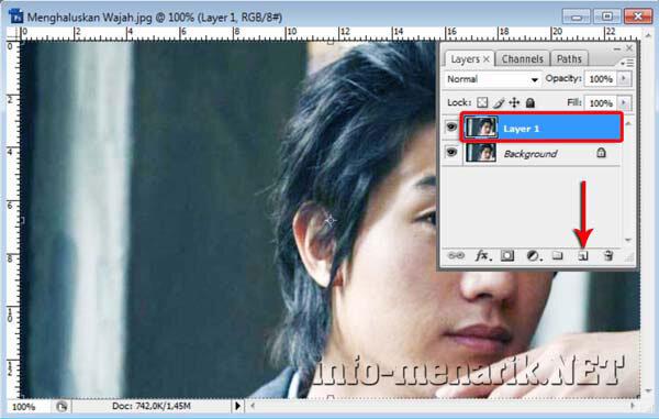 Cara Menghaluskan Wajah Dengan Smart Blur 5