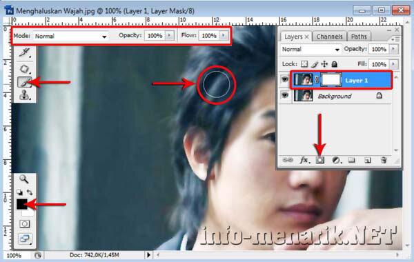 Cara Menghaluskan Wajah Dengan Smart Blur 7