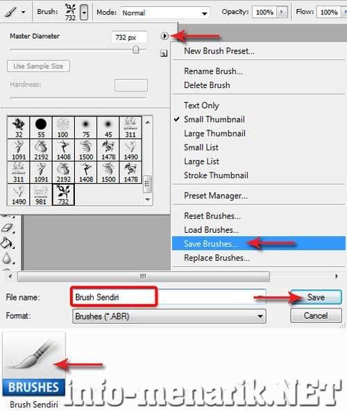Trik Mudah Cara Membuat Brush Photoshop Sendiri 10