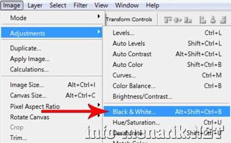 Cara Cepat Membuat Foto Hitam Putih Di Photoshop 3
