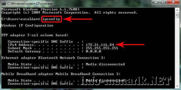 Cara Mudah Mengetahui IP Address Komputer 3