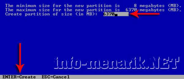 Cara Partisi Hardisk Ketika Install Windows 4