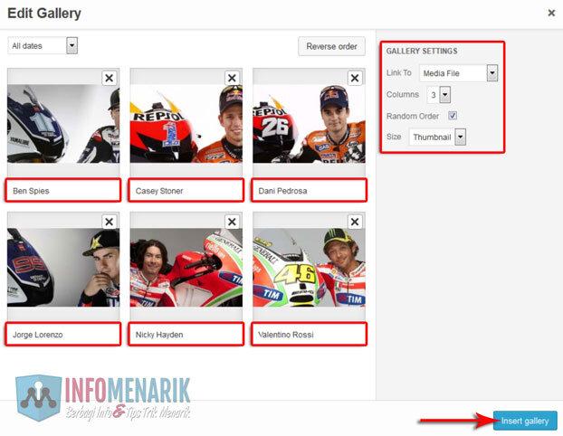 Cara Membuat Album Foto Galeri di WordPress Tanpa Plugin 6