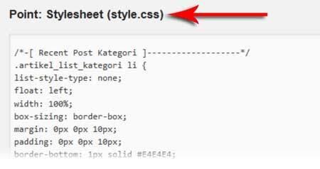 Cara Membuat Recent Post Kategori Di WordPress 3
