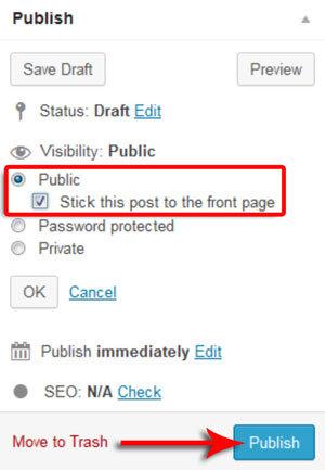 Cara Membuat Sticky Post Di WordPress Dan Pengertiannya 6