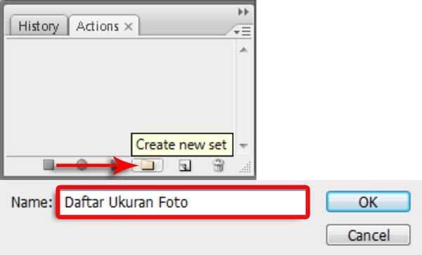 Cara Membuat Ukuran Foto Dengan Action Photoshop 2