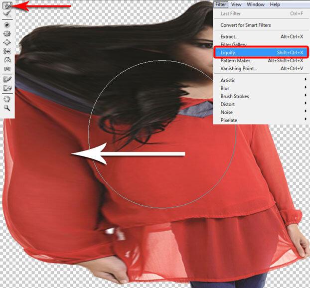 Manipulasi Foto Menjadi Hancur Di Photoshop 5