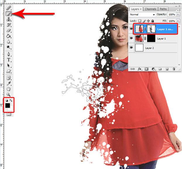 Manipulasi Foto Menjadi Hancur Di Photoshop 7
