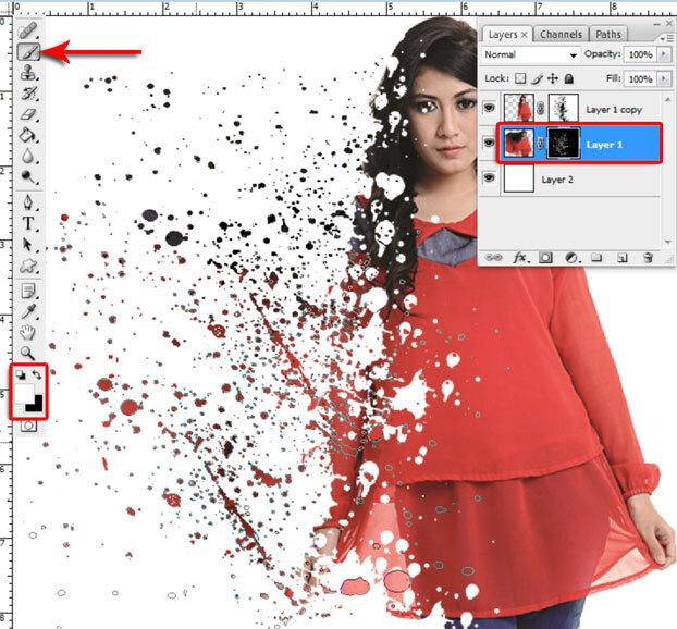 Manipulasi Foto Menjadi Hancur Di Photoshop 8