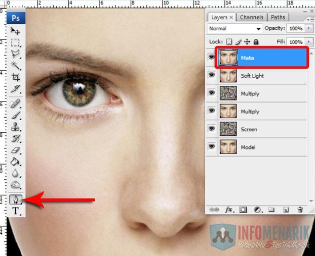 Membuat Wajah Seram Bermain Dengan Blending Photoshop 10