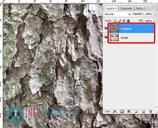 Membuat Wajah Seram Bermain Dengan Blending Photoshop 3