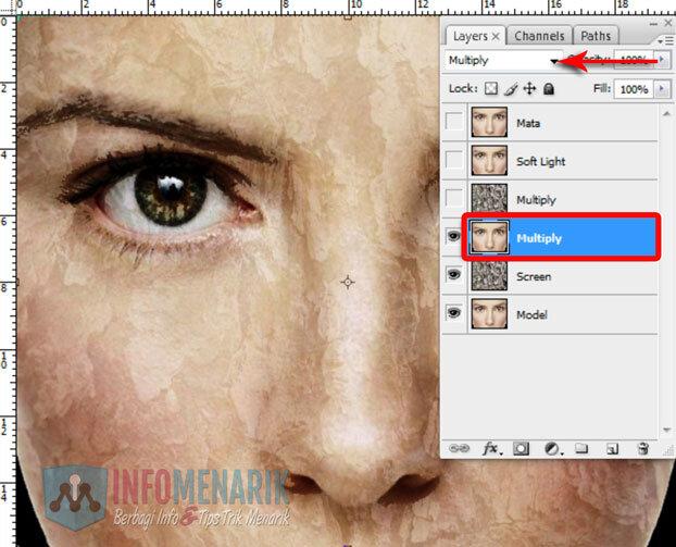 Membuat Wajah Seram Bermain Dengan Blending Photoshop 7