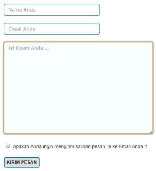 Cara Membuat Form Kontak Tanpa Plugin Di WordPress 0