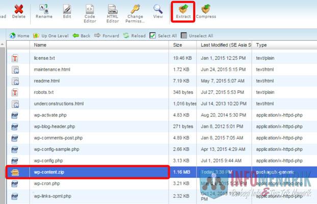 Cara Lengkap Restore Database WordPress Melalui cPanel 4
