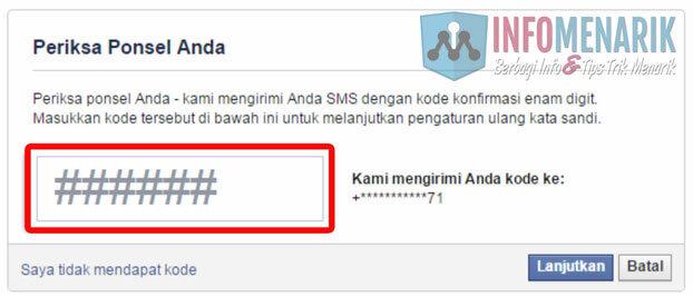 Cara Mengatasi Lupa Password (Kata Sandi) Akun Facebook Dengan Mudah 4