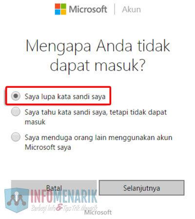 Cara Mudah Membuka Email Hotmail Yang Lupa Password (Kata Sandi) 1