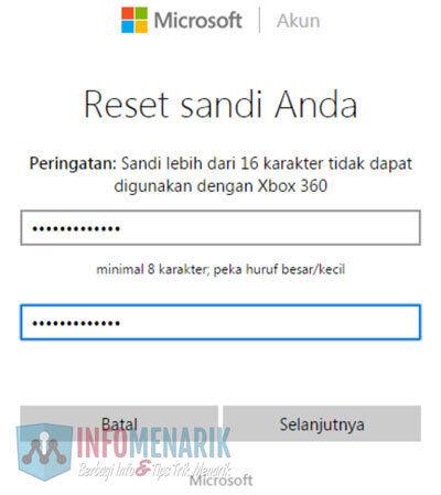 Cara Mudah Membuka Email Hotmail Yang Lupa Password (Kata Sandi) 6