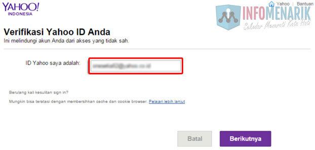 Cara Reset Kata Sandi Email Yahoo Paling Cepat Dan Mudah 2