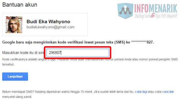 Lupa Password Email GMail Karena Dibajak ~ Ini Dia Cara Mengatasinya 4