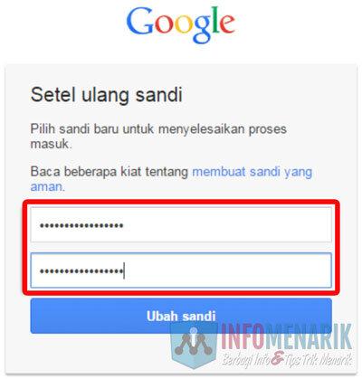 Lupa Password Email GMail Karena Dibajak ~ Ini Dia Cara Mengatasinya 5