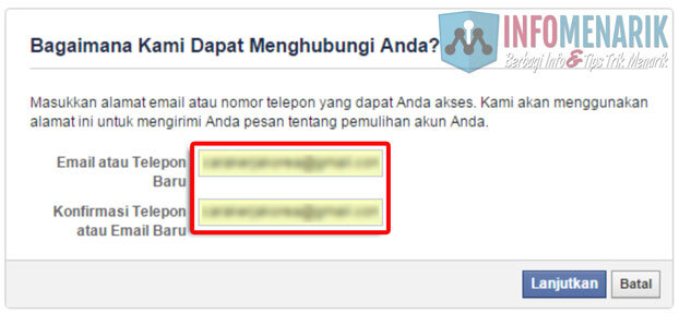 Solusi Tidak Bisa Masuk Akun Facebook Karena Lupa Password Dan Email