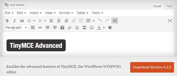 Cara Melengkapi Tampilan Rich Text Editor Default WordPress 0