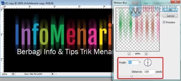 Cara Membuat Huruf Warna-Warni Efek Pelangi (Rainbow) Di Photoshop 10