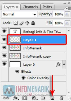 Cara Membuat Huruf Warna-Warni Efek Pelangi (Rainbow) Di Photoshop 13