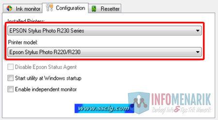Cara Mengatasi Pesan Error Printer EPSON R230 (Blinking & Reset) 1