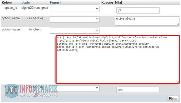 Cara-Menonaktifkan-Plugin-WordPress-Melalui-phpMyAdmin-cPanel-4