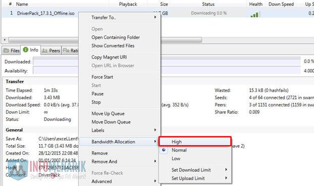 5 Cara Ini Terbukti 100 Persen Dapat Mempercepat Download File Torrent 6