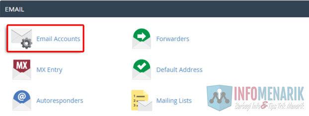 Cara Mudah Membuat Email Dengan Domain Sendiri Melalui cPanel Hosting 1