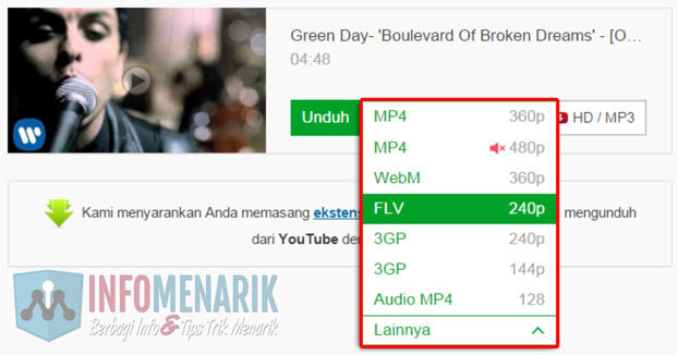 Cara Download Video Youtube Tanpa Menggunakan Software (Install Aplikasi) 3