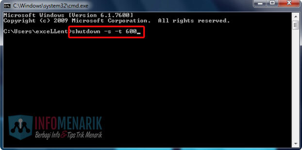 Cara Shutdown Komputer Windows Timer CMD 2