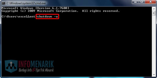 Cara Shutdown Komputer Windows Timer CMD 4
