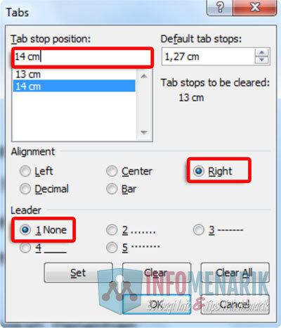 Cara Membuat Daftar Isi Otomatis Di Word 8