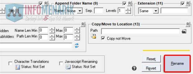 Cara Mengubah Nama Banyak Folder 9
