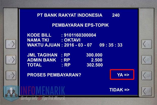 Cara Pembayaran EPS-Topik Korea Di ATM (10)