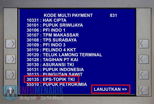 Cara Pembayaran EPS-Topik Korea Di ATM (8)