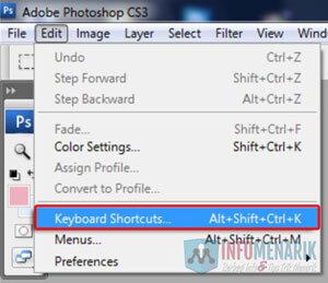 Cara Membuat Keyboard Shortcuts Di Photoshop (4)