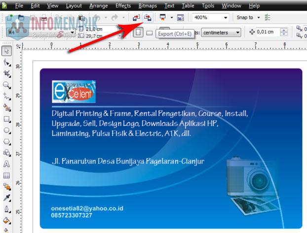 Cara Mengubah File Format CDR Ke JPG Dan PNG (2)