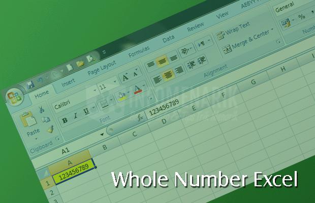 Cara Membatasi Cell Excel Diisi Dengan Angka (0)